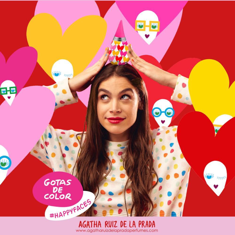 Perfume Mujer Gotas Happy Faces Agatha Ruiz De La Prada / 100 Ml / Eau De Toilette image number 3.0