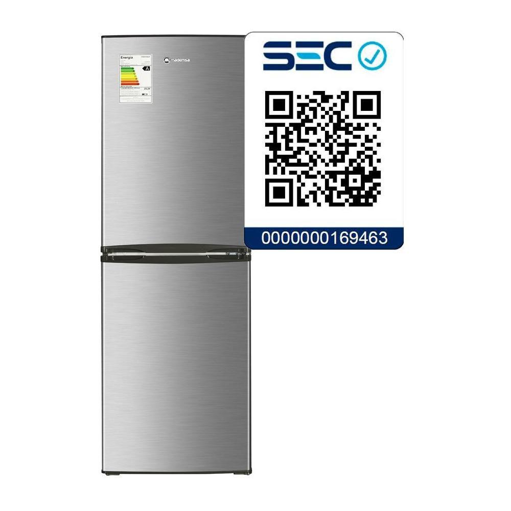 Refrigerador Bottom Freezer Mademsa Nordik 415 Plus/ Frío Directo/ 231 Litros image number 3.0