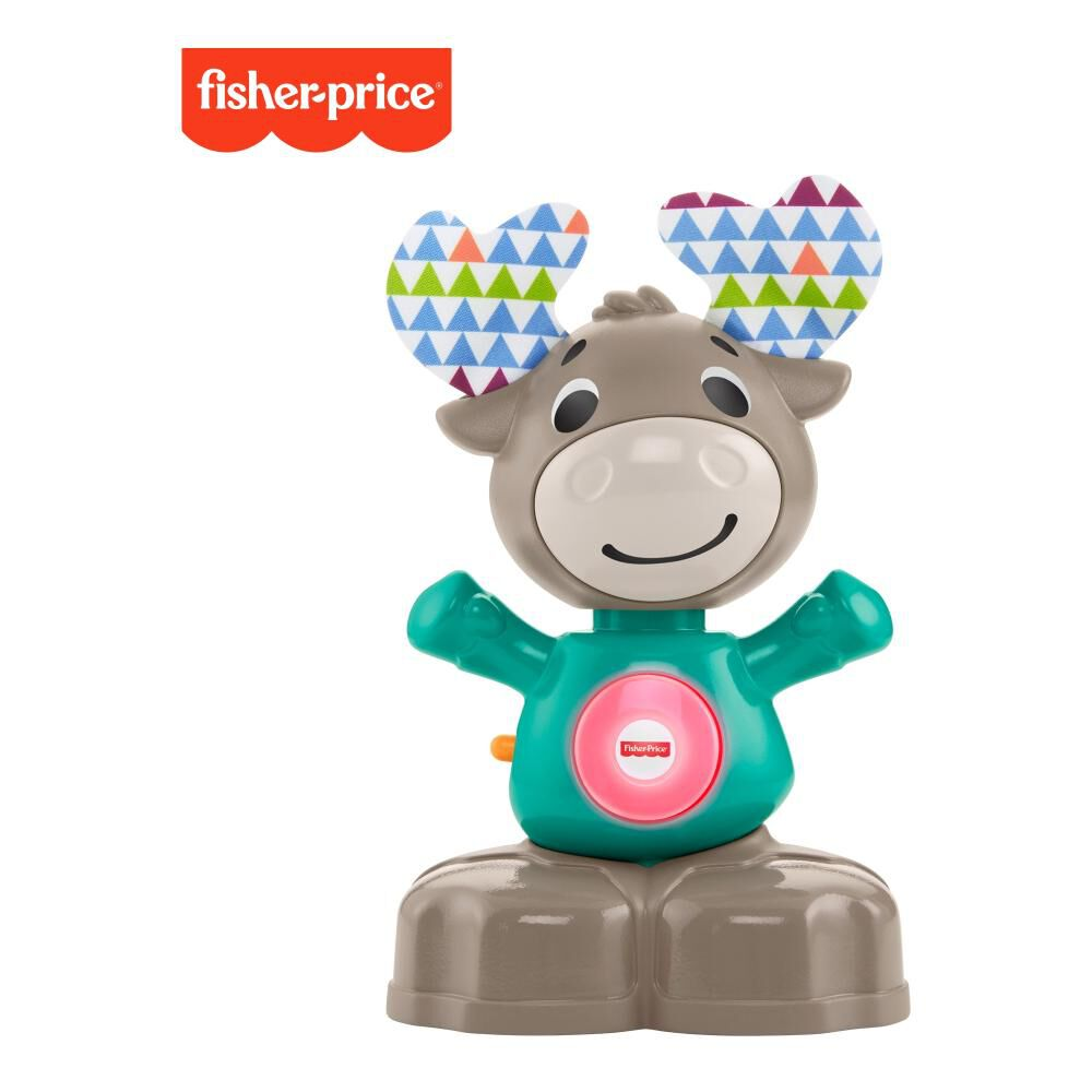 Peluche Didactico Fisher Price Linkimals Alce Musical image number 0.0