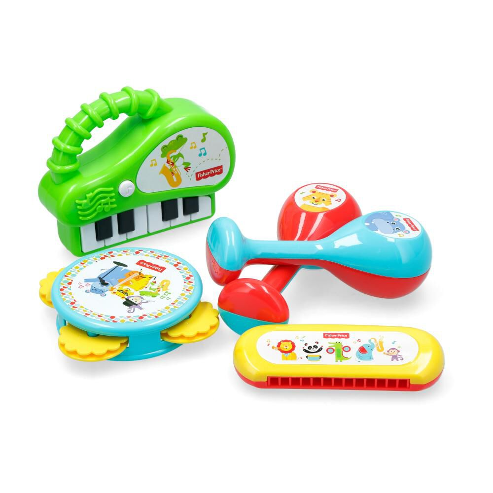 Juego Didactico Fisher Price Banda Musical image number 2.0