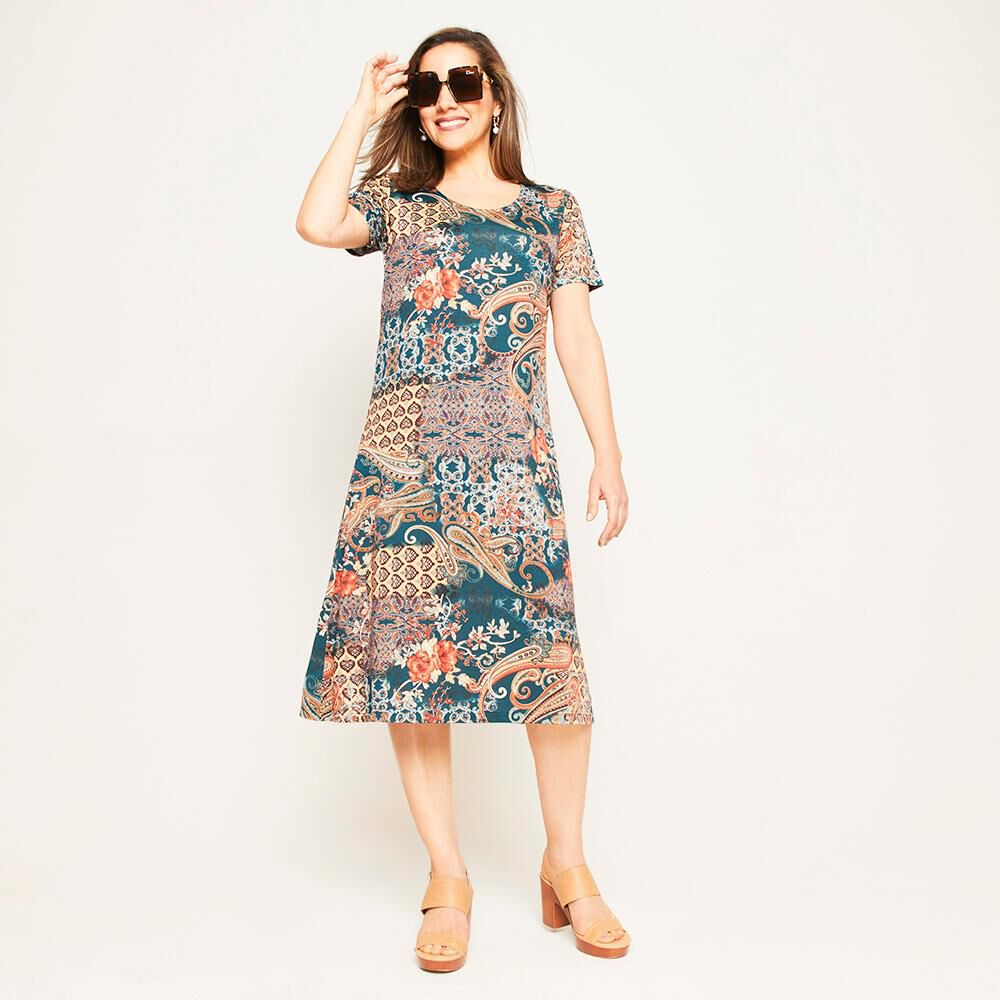Vestido Mujer Lesage image number 1.0