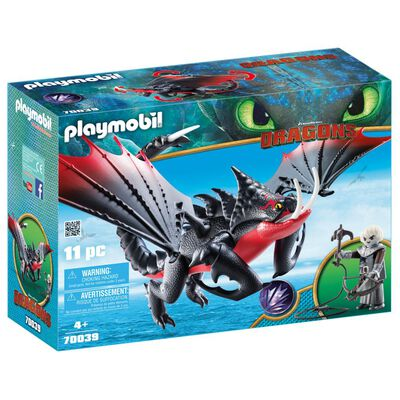 Figura De Acción Playmobil Aguijón Venenoso Con Crimmel