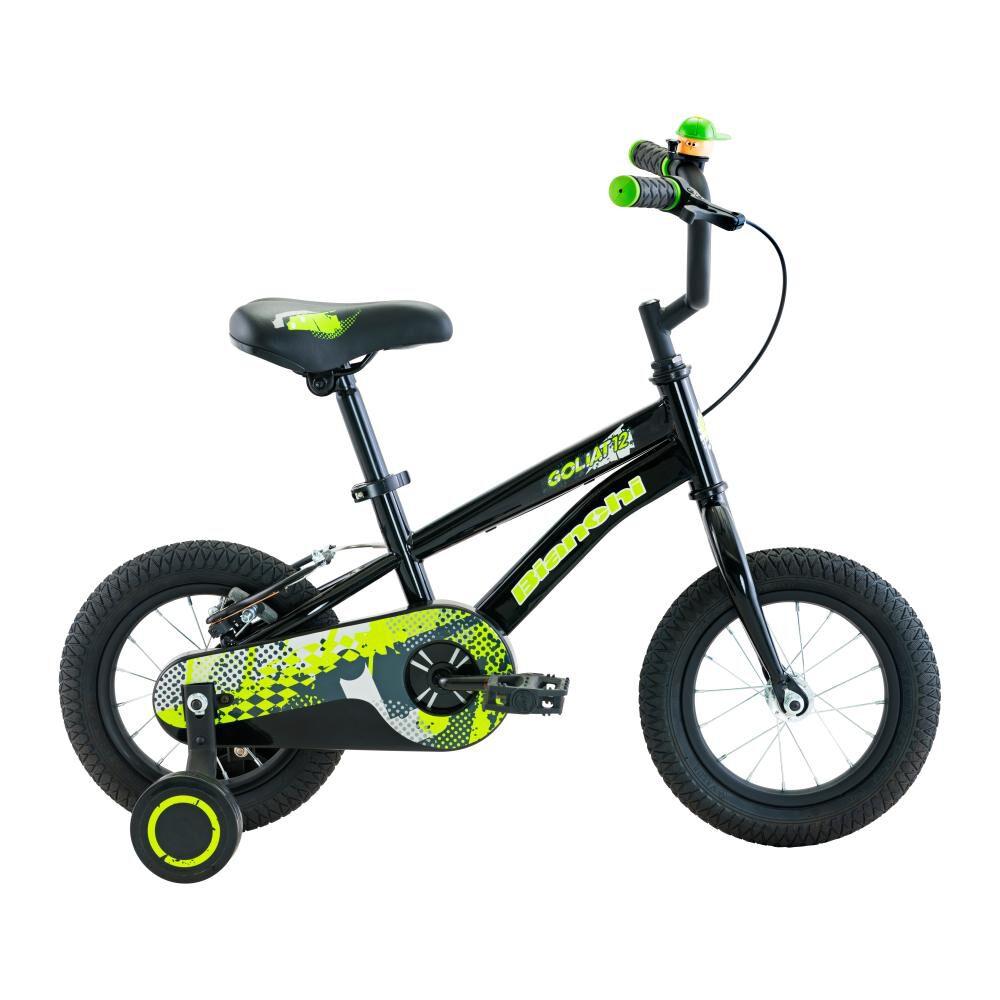 Bicicleta Infantil Bianchi Goliat / Aro 12 image number 0.0