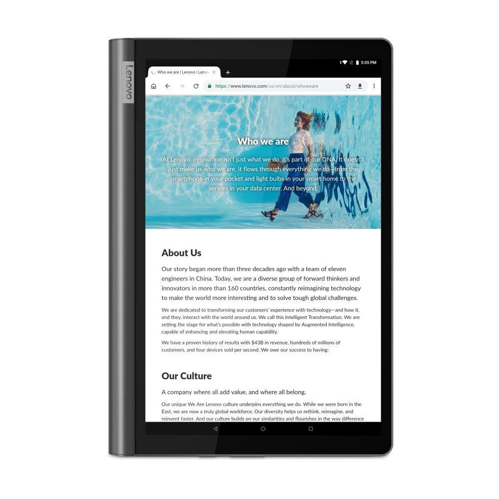 Tablet Lenovo Yoga Smart Tab / Grafito / 64 GB / Wifi / Bluetooth / 10'' image number 5.0
