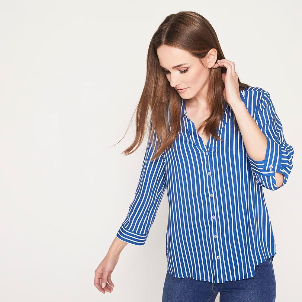 Blusa Rayas  Mujer Geeps image number 0.0