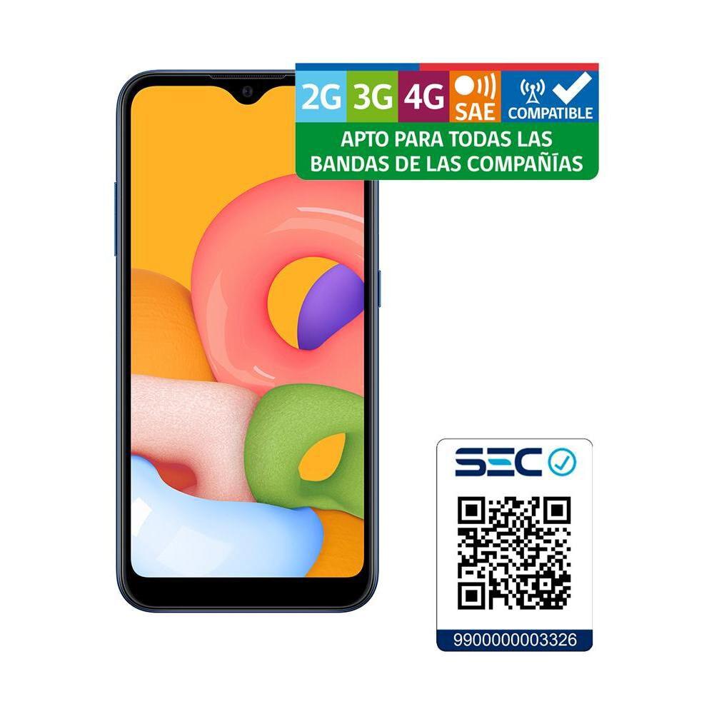Smartphone Samsung A01 Azul / 32 Gb / Liberado image number 8.0
