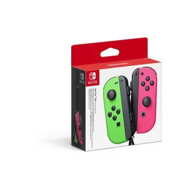 Nintendo Joy-con Pair Neon Green / Pink