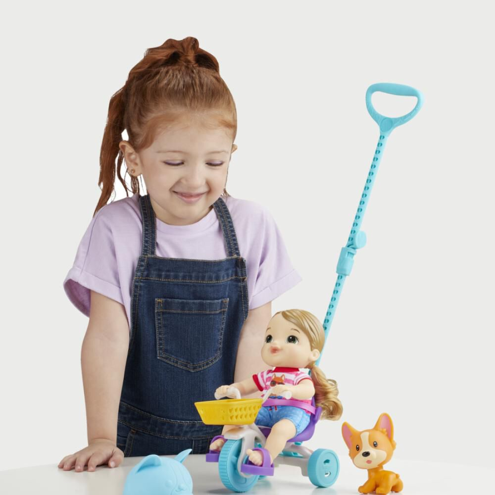 Muñeca Baby Alive Littles Triciclo De Paseo image number 1.0