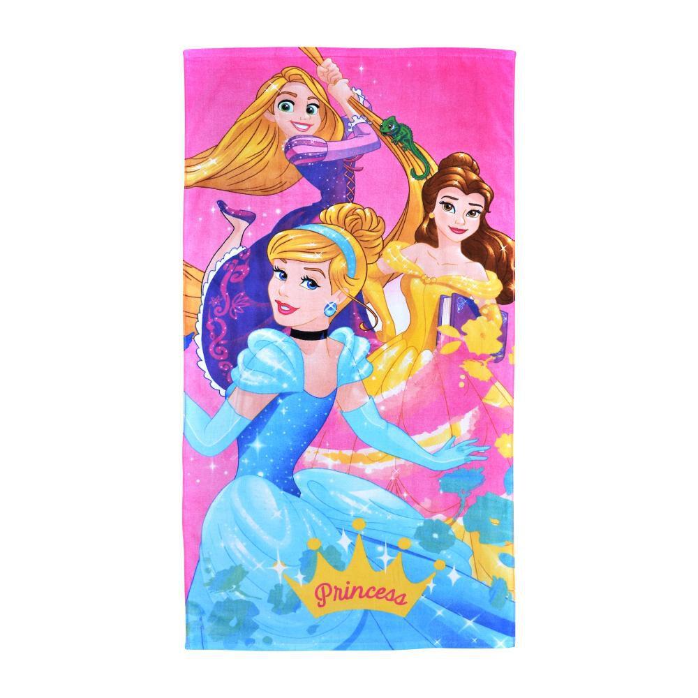 Toalla Playa Disney Princes Pret image number 0.0