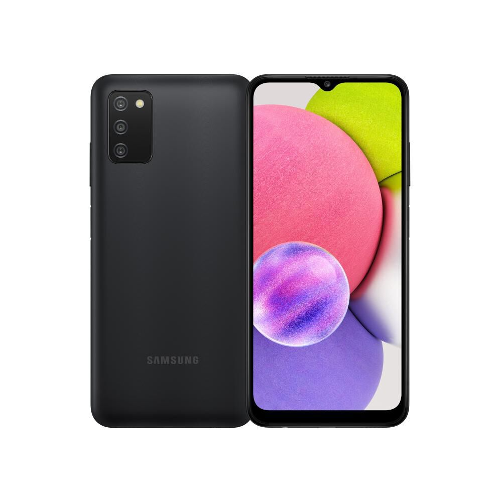 Smartphone Samsung Galaxy A03s Negro / 64 Gb / Liberado image number 0.0
