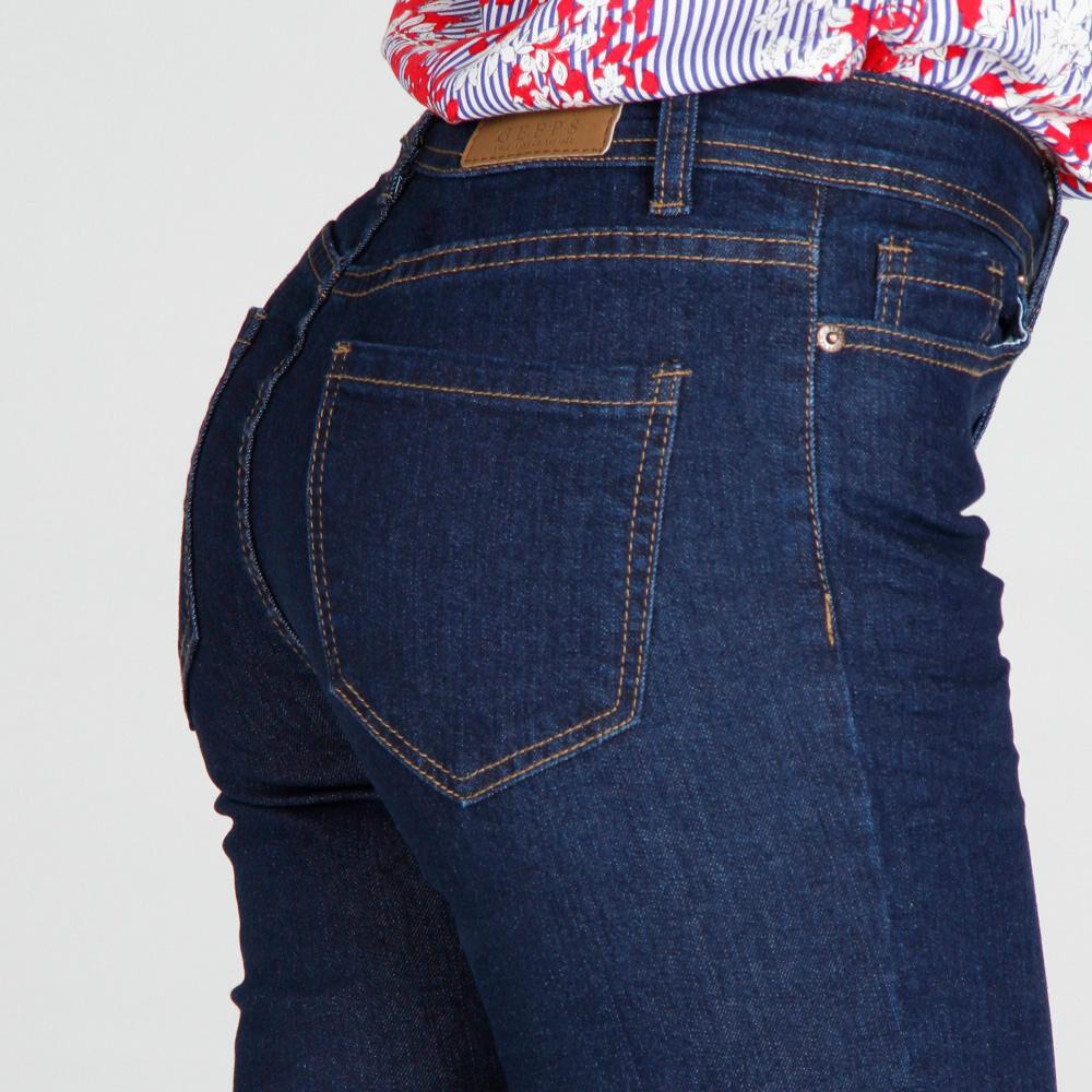 Jeans Mujer Tiro Medio Skinny Geeps image number 3.0