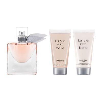 Perfume La Vie Est Belle Lancôme / 30 Ml / Eau De Parfum + Body Lotion 50 Ml + Shower Gel 50 Ml