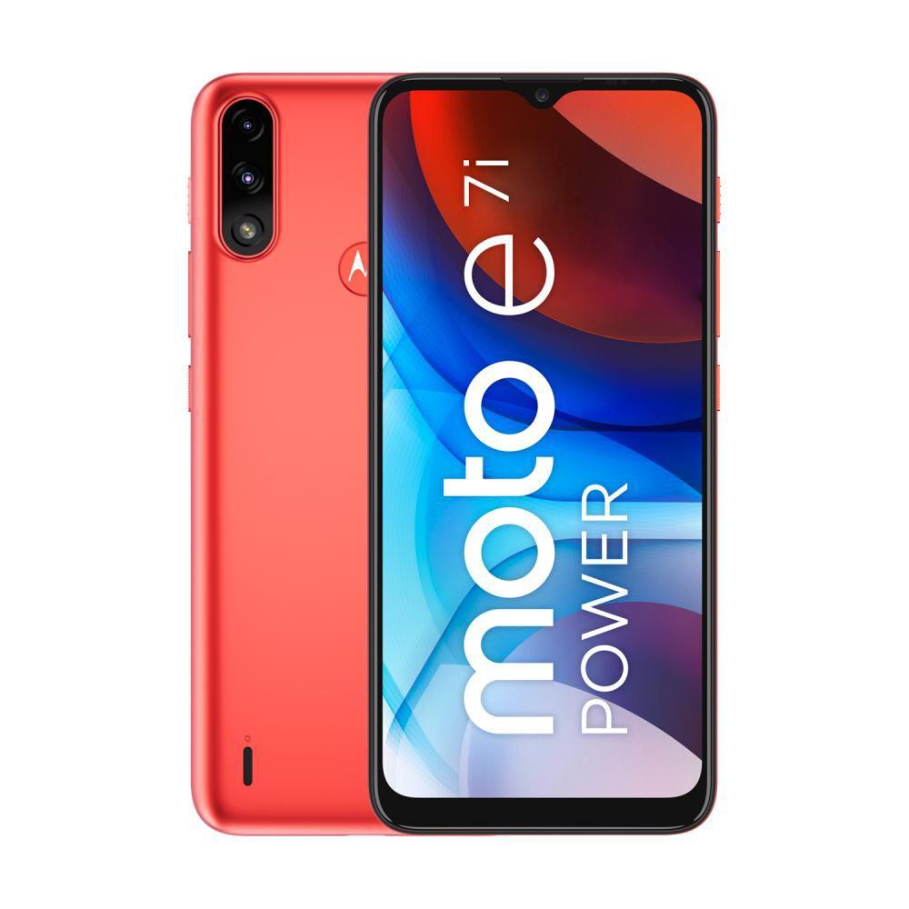Smartphone Motorola E7i Power Naranjo / 32 Gb / Liberado image number 0.0