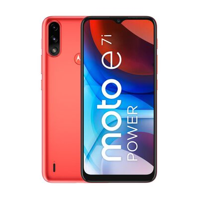 Smartphone Motorola E7i Power Naranjo / 32 Gb / Liberado