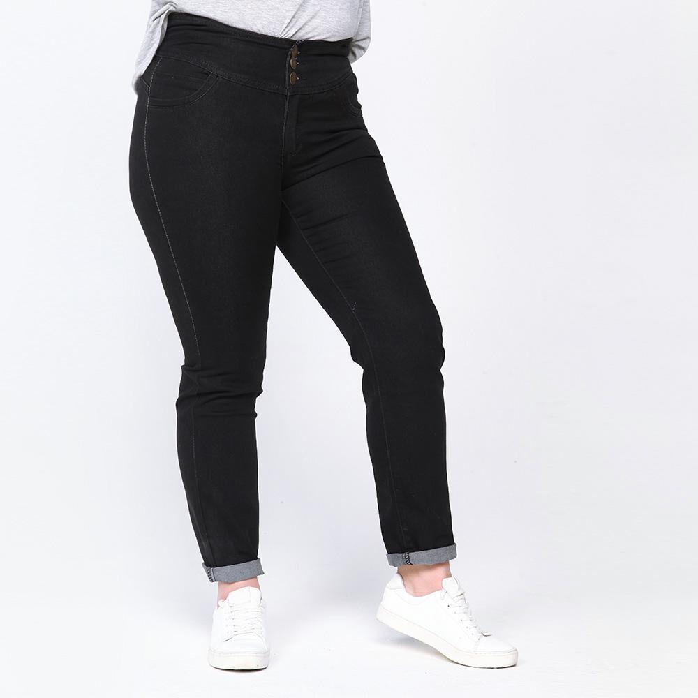 Jeans Mujer Tiro Alto Recto Push Up Sexy Large En Oferta Hites Com