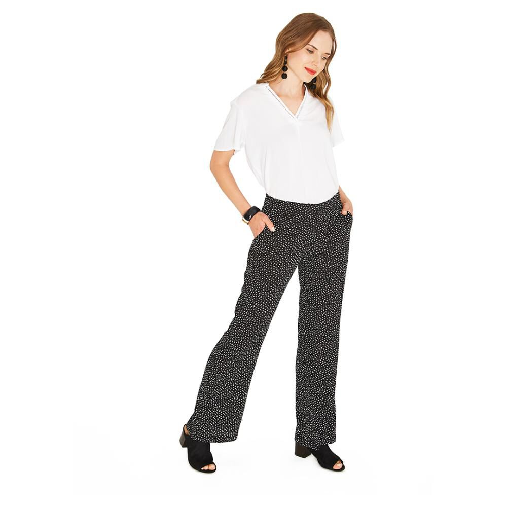 Pantalon  Mujer Lorenzo Di Pontti image number 4.0