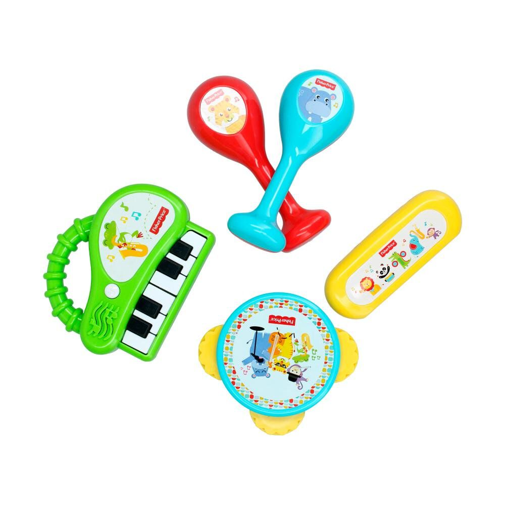 Juego Didactico Fisher Price Banda Musical image number 3.0
