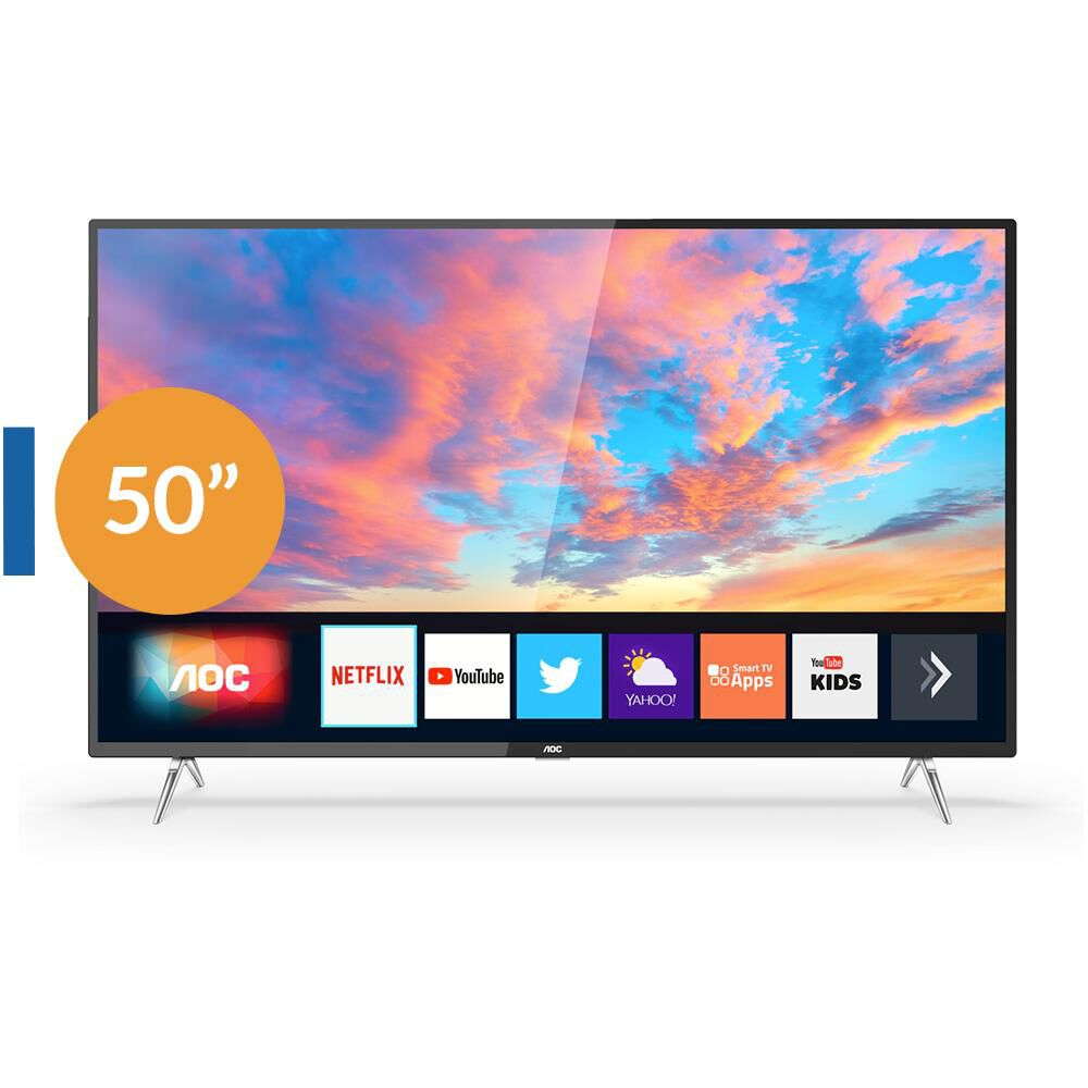 "Led AOC 50U6295 / 50"" / Ultra Hd / 4K / Smart Tv image number 0.0"