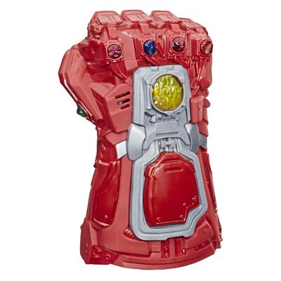Figura De Accion Avenger Iron Man Guantelete Electrónico Sfx De Película