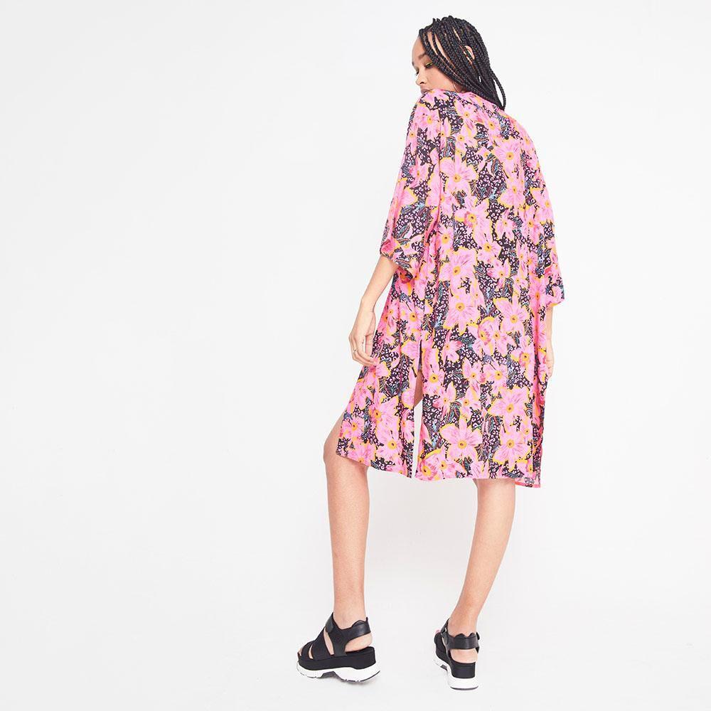 Kimono Largo Estampado Mujer Rolly Go image number 2.0