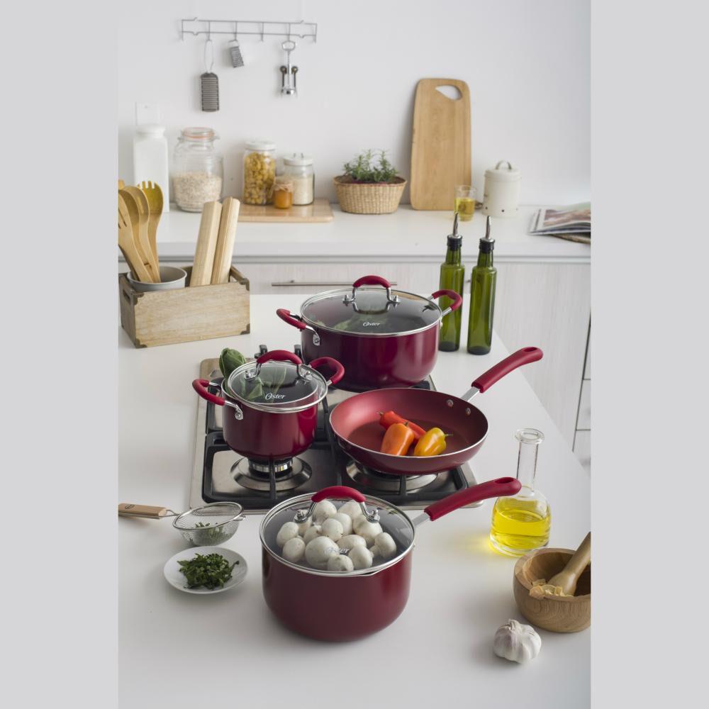 Bateria De Cocina Oster Colores / 7 Piezas image number 1.0