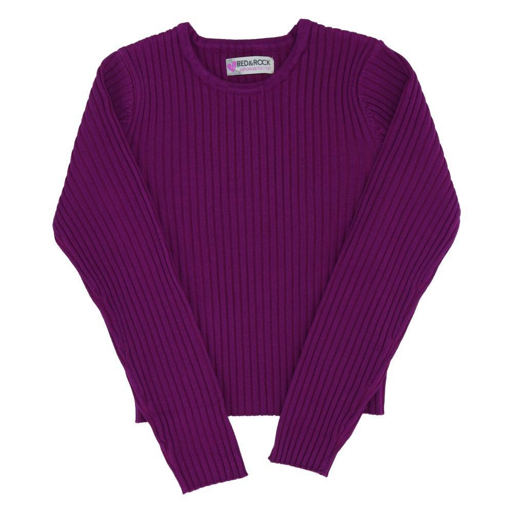 Sweater Niña Teen Red - Rock image number 0.0
