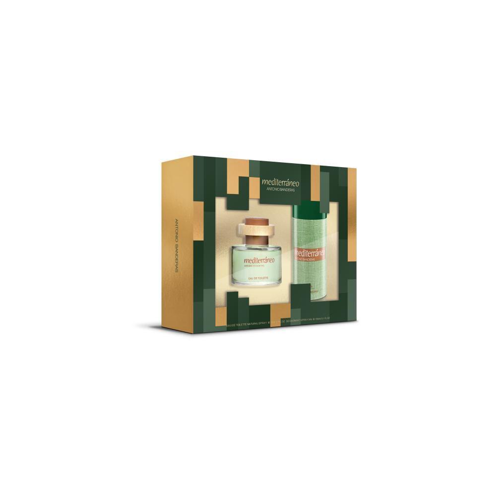 Perfume Mediterraneo Antonio Bandera / 50 Ml / Eau De Toillete + Desodorante image number 0.0