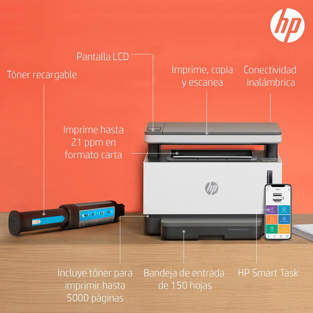 Impresora Multifuncional Hp Laser Neverstop 1200w image number 6.0