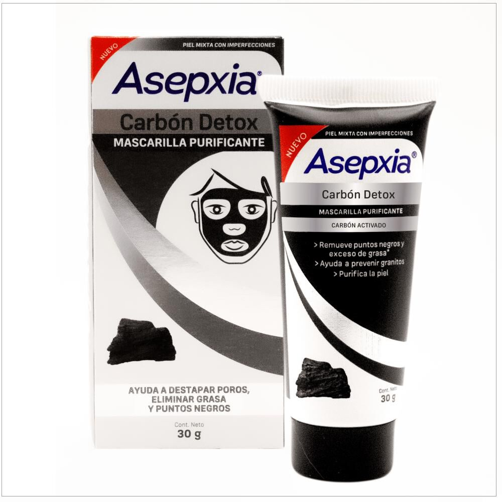 Mascarilla Facial Asepxia / 30 Gr image number 0.0