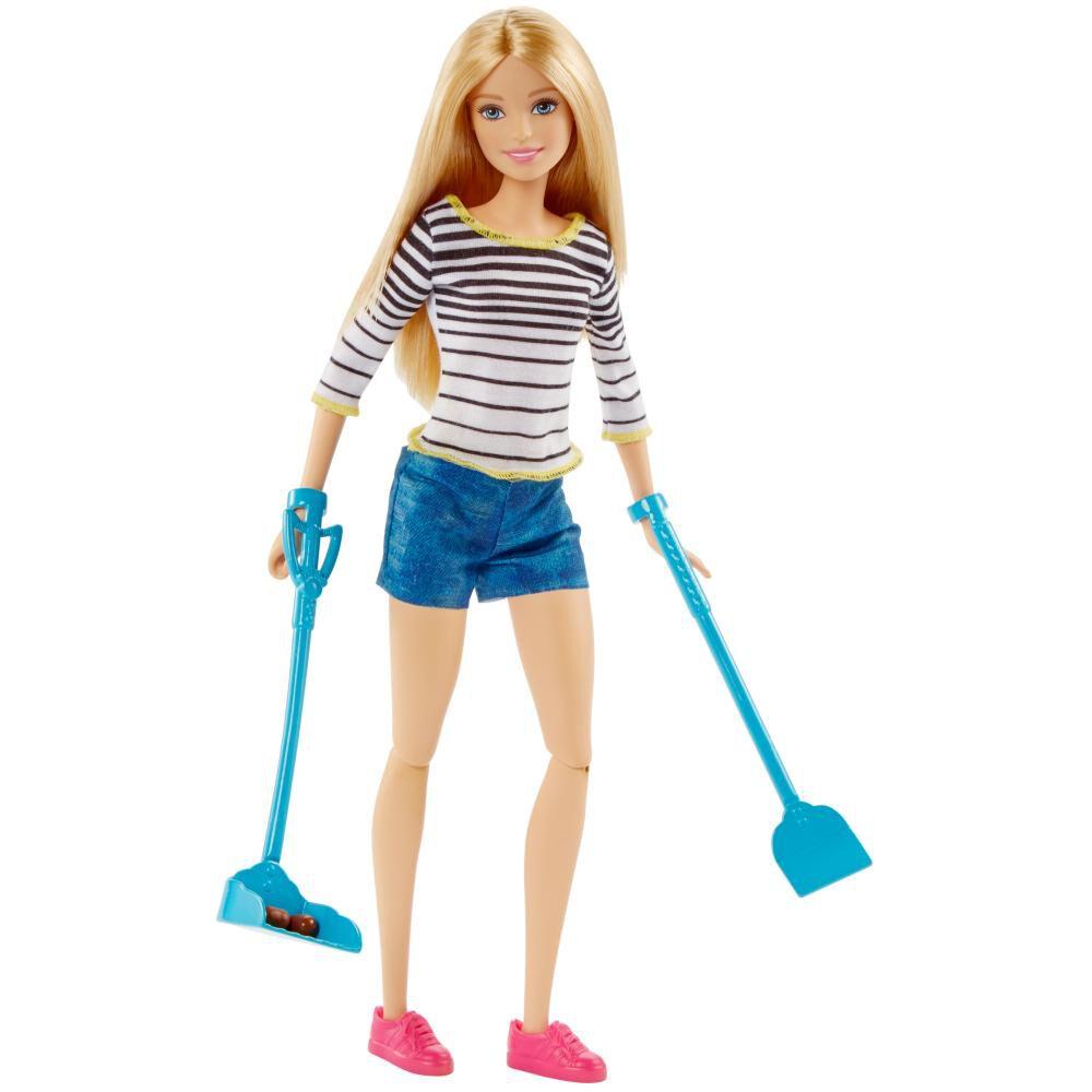 Muñeca Barbie Paseo De Perrito image number 3.0