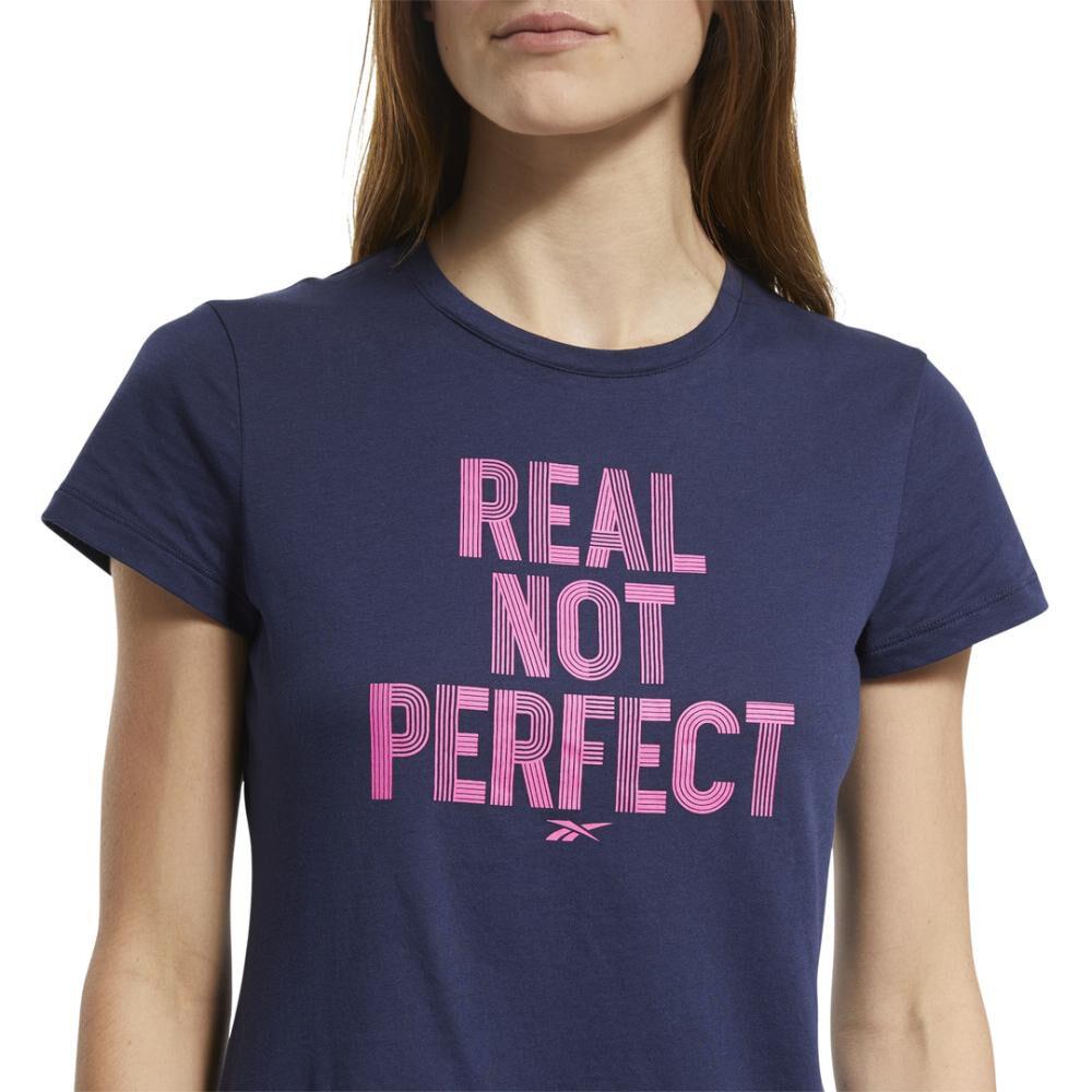 Polera Mujer Reebok Training Essentials Realnotperfec image number 3.0