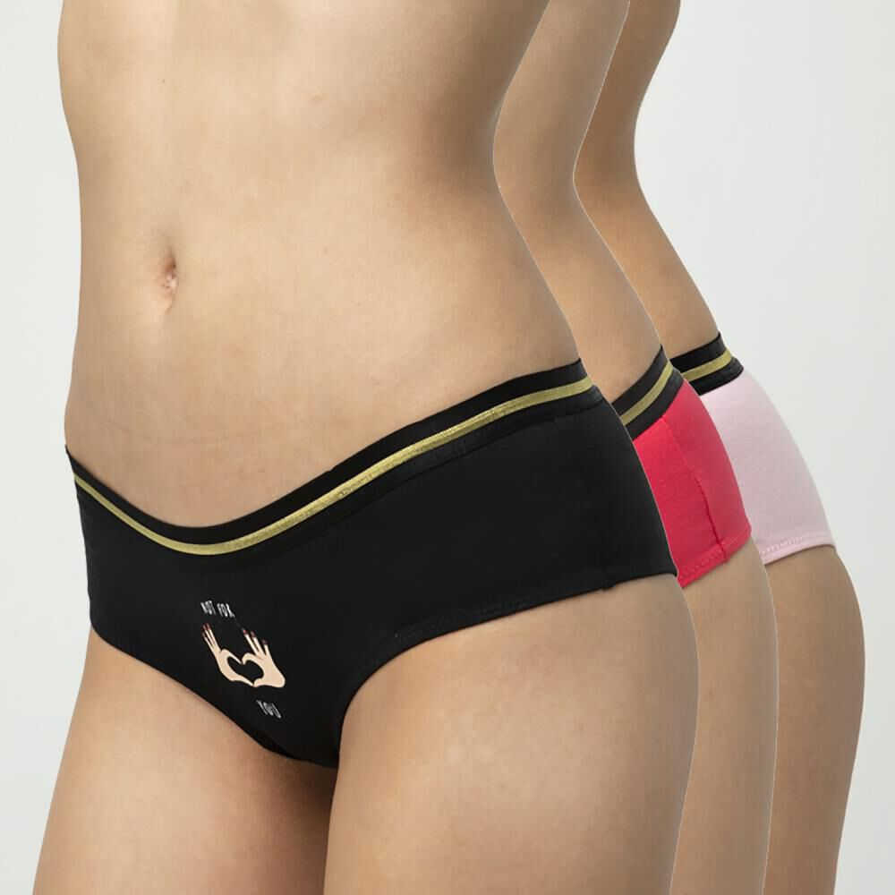 Pack Culotte Mujer Palmers / 3 Unidades image number 0.0