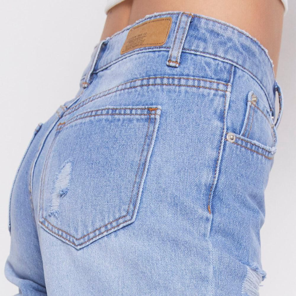 Jeans Tiro Alto Mom Mujer Freedom image number 4.0