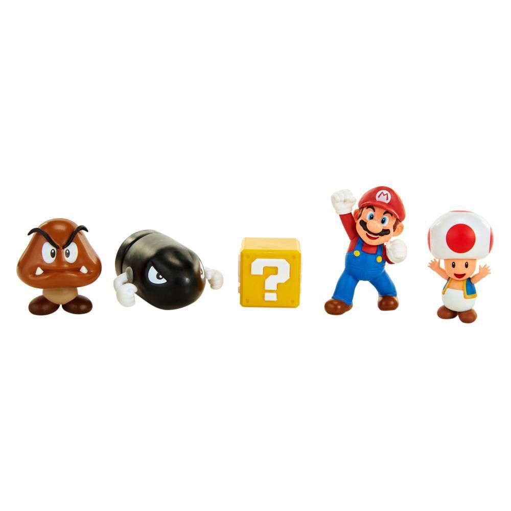 Figura Coleccionable Nintendo Playset Mario Acorn Plains image number 2.0