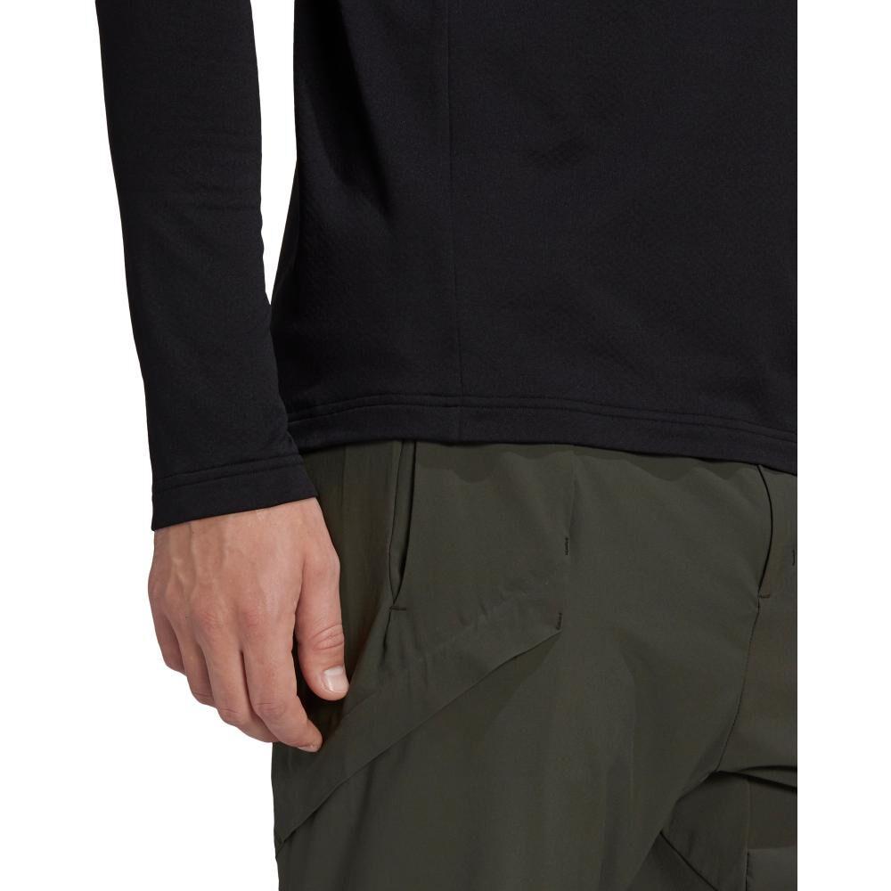 Polerón Deportivo Hombre Adidas Terrex Multi 1/2 Fleece image number 4.0