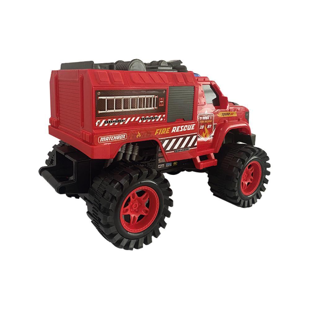 Auto De Juguete Match Box Fire & Rescue image number 1.0