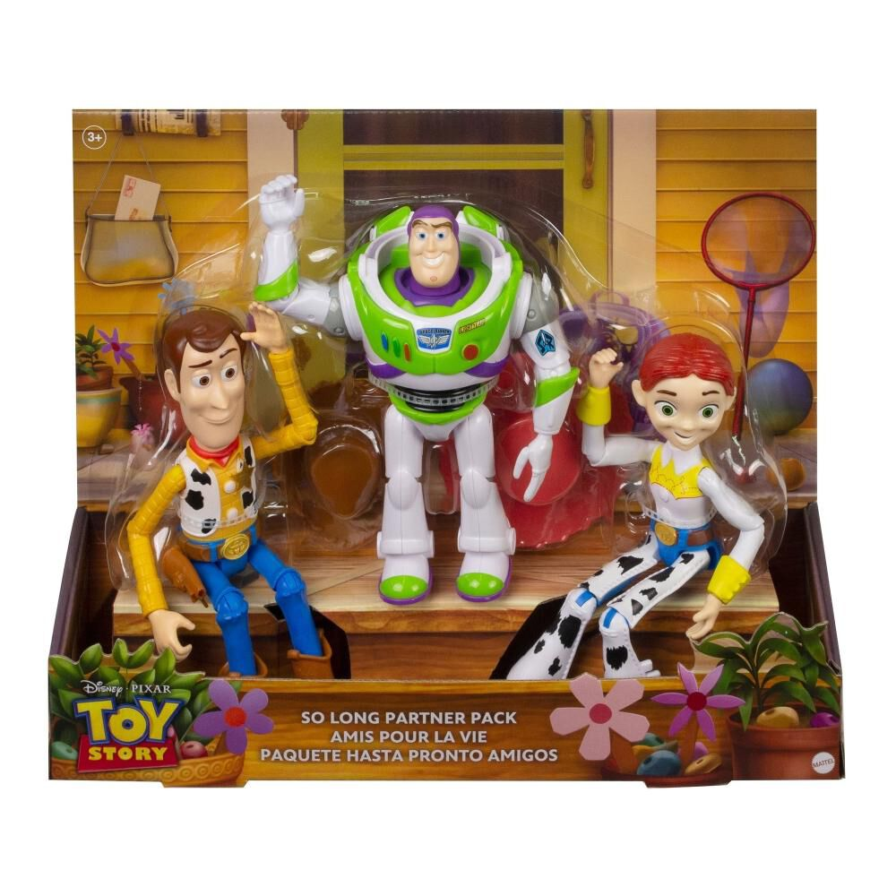 Set De Figuras Toy Story Buzz Lightyear, Woody Y Jessie Llegada Con Bonnie image number 4.0