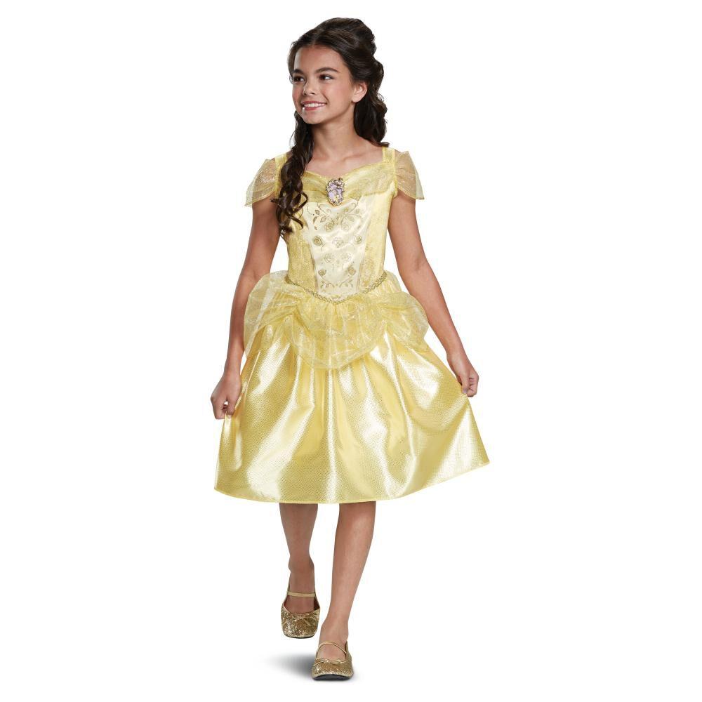 Disfraz Para Niña Princesas Disney Bella Básico image number 0.0