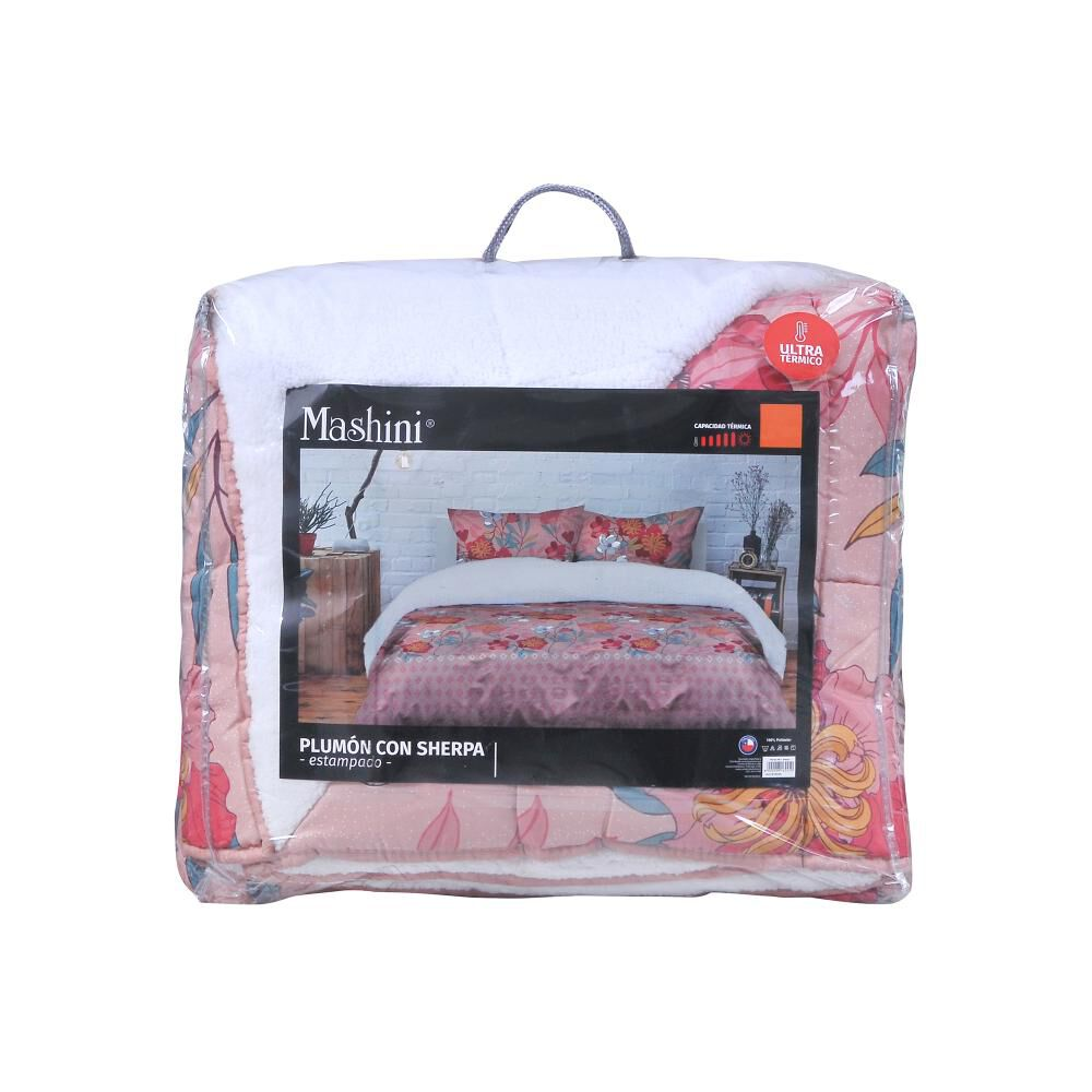 Plumon Sherpa Mashini Estampado / 1.5 Plazas image number 2.0