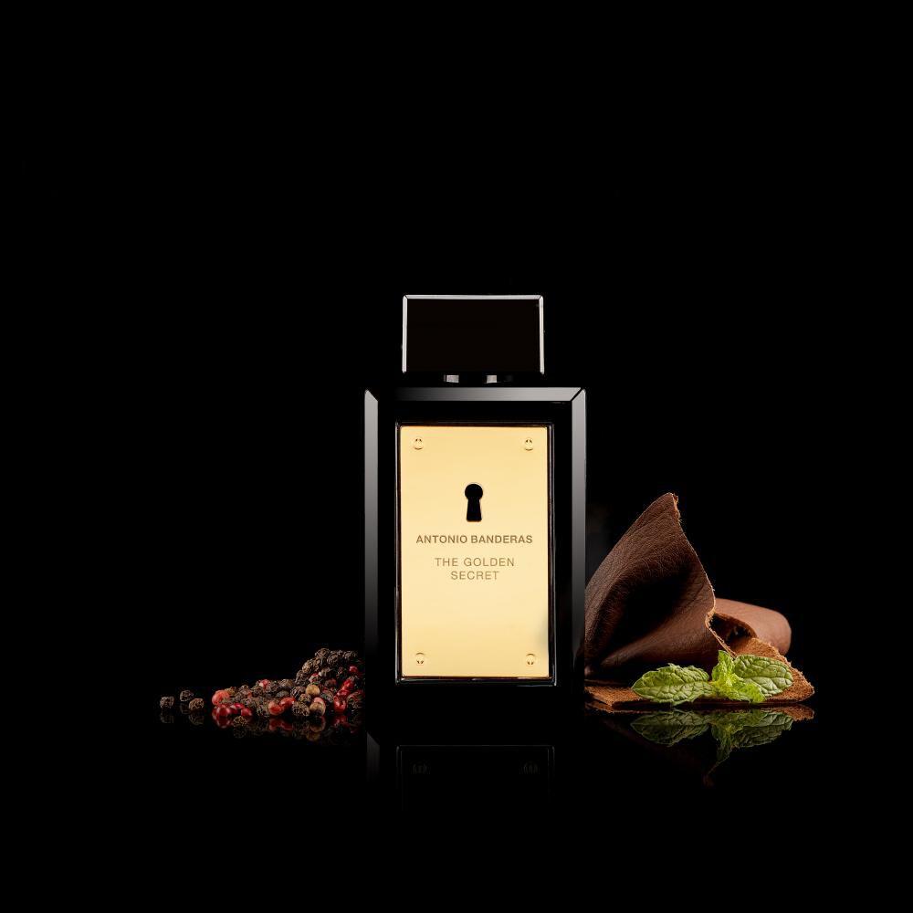 Perfume The Golden Secret Antonio Bandera / 50 Ml / Eau De Toillete + Desodorante image number 3.0