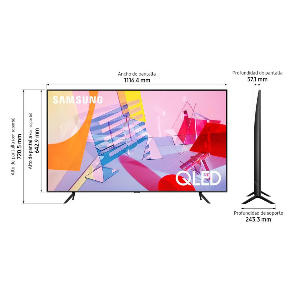 "Qled Samsung 50Q60TA / 50"" / Ultra Hd / 4K / Smart Tv image number 6.0"