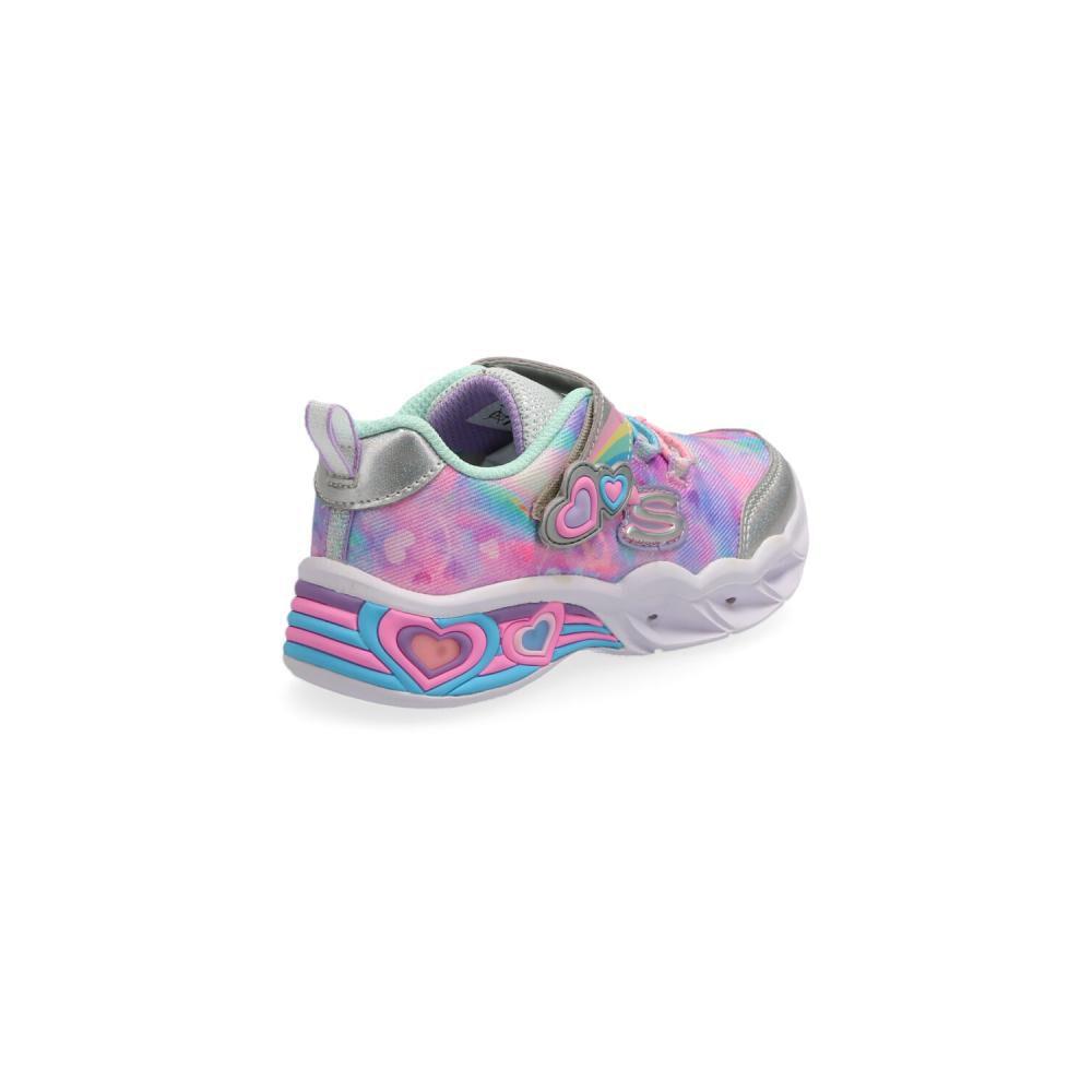 Zapatilla Infantil Niña Skechers image number 2.0