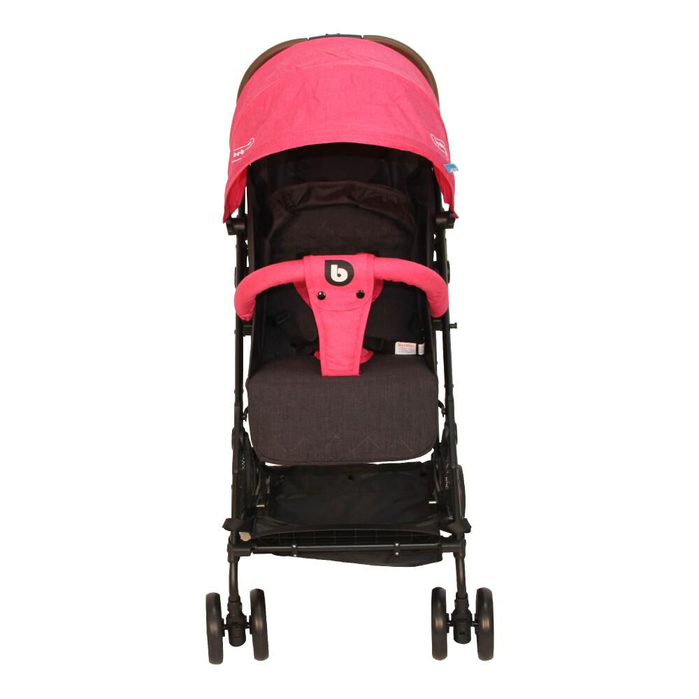 Coche Travel System Compacto Bebeglo RS-13785-2 Fucsia image number 9.0