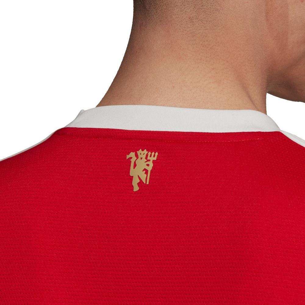 Camiseta De Fútbol Hombre Adidas Manchester United 21/22 image number 4.0