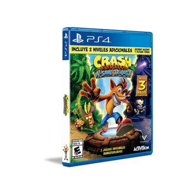Juego Ps4 Sony Crash Bandicoot N'sane Trilogy - Ps4