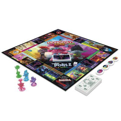 Juegos Familiares Monopoly Jr. Trolls (Movie 2020)