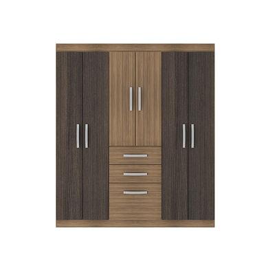 Closet Casa Ideal Bariloche / 6 Puertas / 2 Cajones