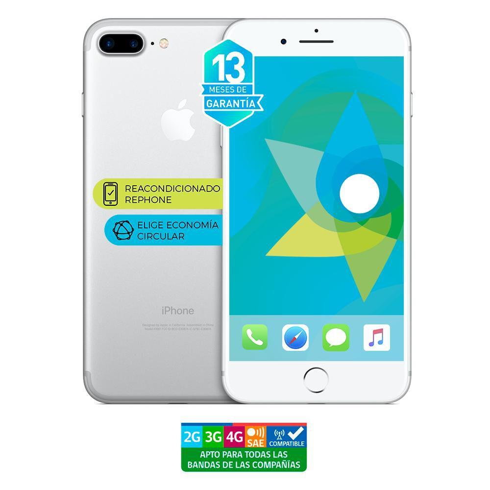 Smartphone Apple Iphone 7 Plus Reacondicionado Plata / 128 Gb / Liberado image number 3.0