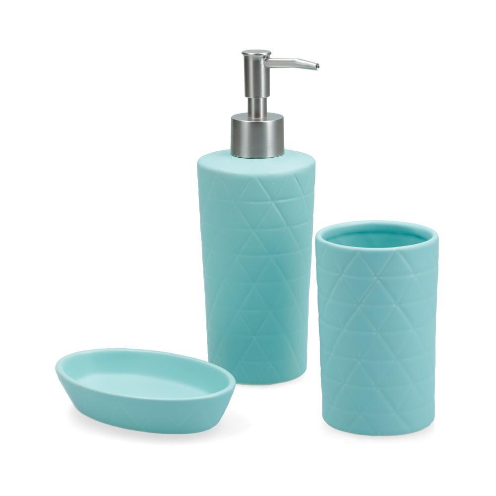 Accesorios De Baño Deco Express Ceramica / 3 Piezas image number 0.0