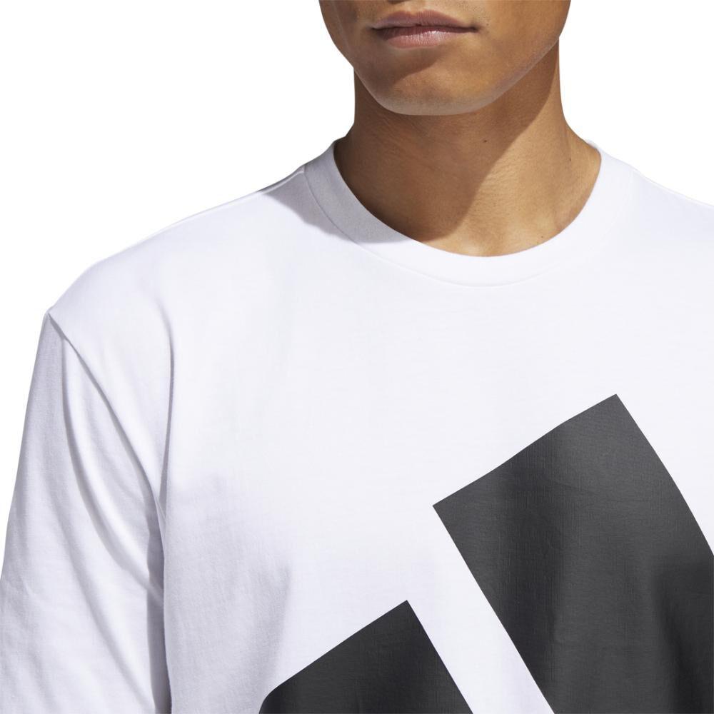 Polera Hombre Adidas Logo Grande image number 4.0